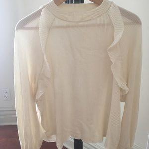 Chloe Cotton and Silk Sweater